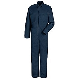 100% Cotton Button-front Coverall Main Image