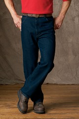 100 Cotton Men's Jean Work Pants. Great Value Main Image