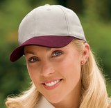 2-tone Brushed Twill Cap Main Image