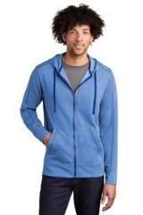 Tri-Blend Wicking Fleece Full-Zip Hooded Jacket Main Image