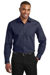 Slim Fit Carefree Poplin Shirt Main Image