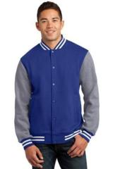 Fleece Letterman Jacket Main Image