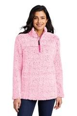 Ladies Cozy 1/4-Zip Fleece Main Image