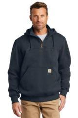 Carhartt Rain Defender Paxton Heavyweight Hooded Zip Mock Sweatshirt Main Image