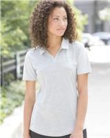 Adidas Women's Heather Block Golf Shirt Main Image
