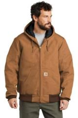 Carhartt Quilted-Flannel-Lined Duck Active Jac Main Image