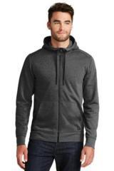 New Era TriBlend Fleece FullZip Hoodie Main Image