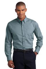 Button-down Mini-check No-iron Shirt Main Image
