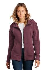 Women's Perfect Weight Fleece Drop Shoulder Full-Zip Hoodie Main Image