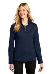 Ladies Grid Fleece Jacket Main Image