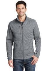 Digi Stripe Fleece Jacket Main Image