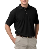 Adult Short Sleeve Pique Polo Shirt With Pocket Main Image