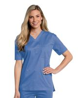 All Day Unisex V-neck scrub top Main Image