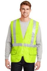 Ansi Class 2 Mesh Back Safety Vest Main Image