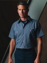 Best Selling Uniform Short Sleeve Work Shirt Main Image