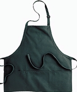 Bib Apron With Pockets Main Image