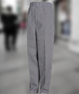 Blended Baggy Chef Pant With Zip Fly Main Image