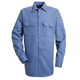 Button-front Work Shirt With CAT 2 Protection Main Image