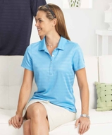 Women's Callaway Textured Performance Golf Shirt Main Image