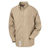 CAT 1 Rated Button Down Dress Shirt With Pocket Main Image