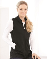 Women's Textured Full-Zip Vest Main Image