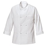 Classic Eight Knot-button Chef Coat Main Image