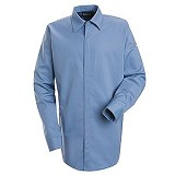 Concealed-gripper Pocketless Work Shirt With CAT 2 Protection Main Image
