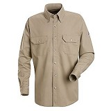 Cool Touch 2 Button Front Deluxe Safety Shirt With CAT 2 Protection Main Image