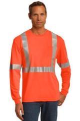 Cornerstone Ansi 107 Class 2 Long Sleeve Safety T-shirt Main Image