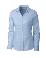 Women's Cutter & Buck Long Sleeve Epic Easy Care Tattersall Main Image
