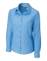 Women's Cutter & Buck Big & Tall Long Sleeve Epic Easy Care Fine Twill Main Image