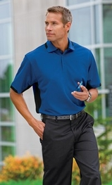 Dry Zone Colorblock Ottoman Polo Shirt Main Image