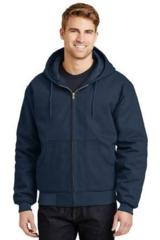 Duck Cloth Hooded Work Jacket Main Image
