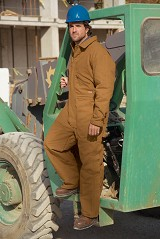 Duck Insulated Coverall With Nylon Quilted Lining Main Image