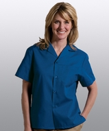 Easy Care Poplin Camp Shirt Main Image