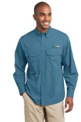 Eddie Bauer Long Sleeve Fishing Shirt Main Image