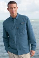 Eddie Bauer Long Sleeve Performance Fishing Shirt Main Image