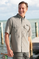Eddie Bauer Short Sleeve Performance Fishing Shirt Main Image