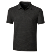 Men's Forge Polo Pencil Stripe Tailored Fit Main Image