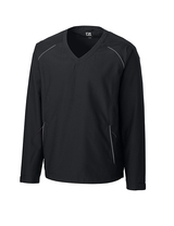Men's Cutter & Buck WeatherTec Beacon V-Neck Jacket Main Image