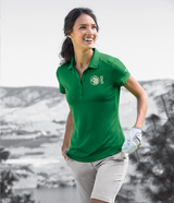 Women's Nike Golf Dri-FIT Smooth Performance Modern Fit Polo Main Image