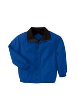 Fleece-lined Nylon Jacket Main Image