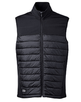 Dri Duck Men's Summit Puffer Body Softshell Vest Main Image
