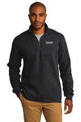 Slub Fleece 1/4-zip Pullover Main Image