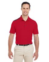 Adidas Golf Men's 3-Stripes Shoulder Polo Main Image