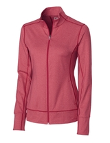 Women's Cutter & Buck Drytec Long Sleeve Topspin Full-zip Pullover Main Image