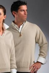 Greg Norman Drop-needle 1/4-zip Mock Sweater Main Image
