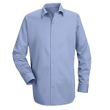 Gripper Front Pocketless Work Shirt With Long Sleeves Main Image