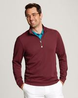 Cutter & Buck Men's Traverse Half-Zip Jersey Knit Main Image
