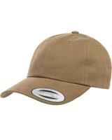 Adult Peached Cotton Twill Dad Cap Main Image